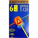 Memorex SHQ T-120 6 Hour Blank VHS Tape Super High Quality