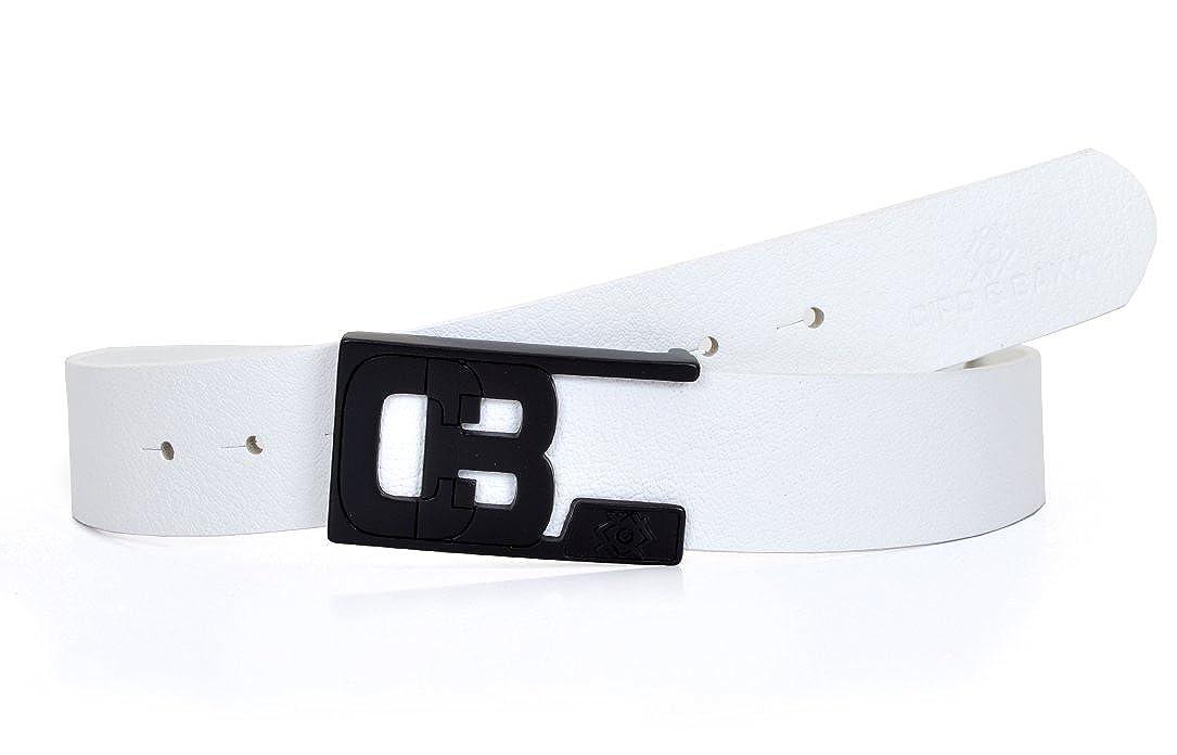 Mens Cipo /& Baxx Belt Genuine Leather Modern Design