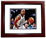 Ray Allen Signed - Autographed Boston Celtics 8x10 inch Photo MAHOGANY CUSTOM FRAME - Guaranteed to pass PSA or JSA -