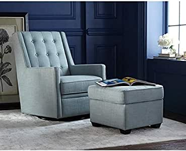 Amazon.com: angelo:HOME Rocking/Swivel Chair and Ottoman ...