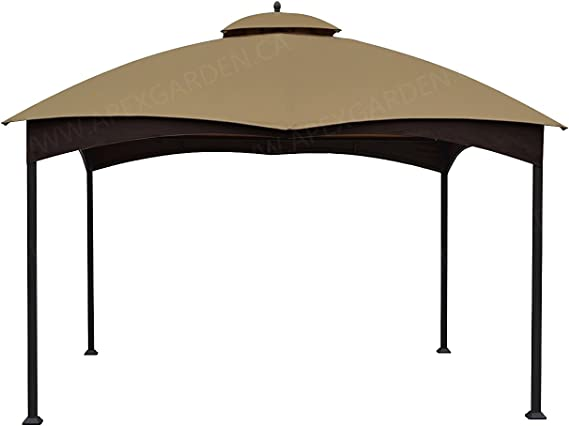 De repuesto toldo superior para la Lowe de 10 x 12 Gazebo modelo # gf-12s004bto/gf-12s004b-1: Amazon.es: Jardín