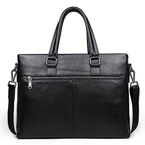 Leather Messenger B Shoulder style brown Men's Genuine Bag Brand Fashion Casual New Black Korean Bag Oruil wIqpvp
