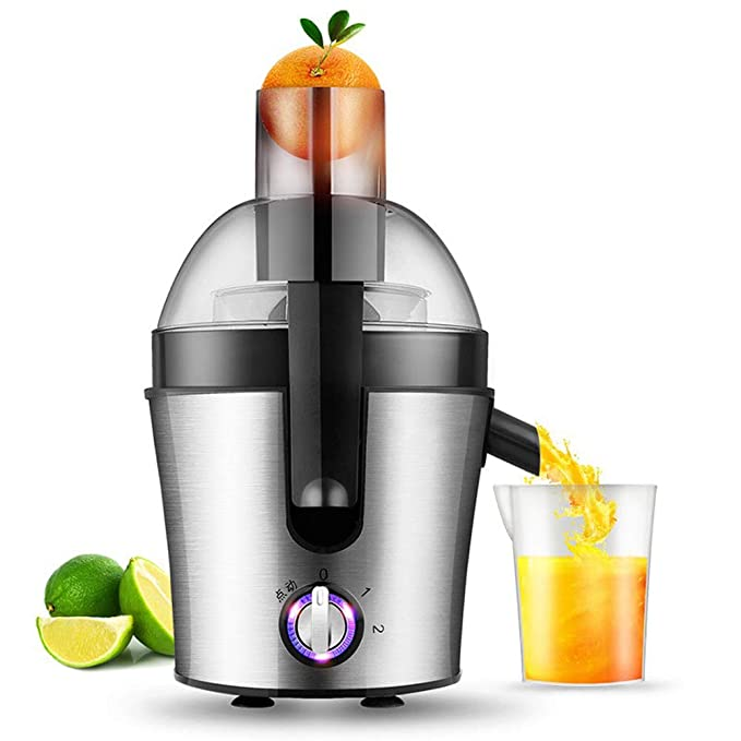 WGFGXQ Stainless Steel Juicer, 200W-500W, Multi-Function Household Automatic Fruit Vegetable Juicer