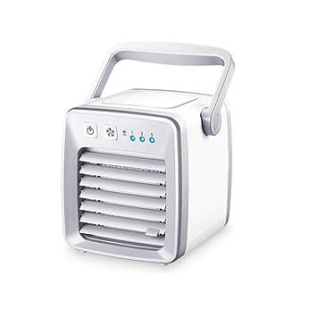 Klimageräte & Ventilatoren Bürotechnik Mini Klimagerät Luftkühler Air Cooler Usb Mobil Luftbefeuchter Ventilator Weiß