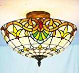 Tiffany Chandelier Ceiling lamp NMJ2060 huimeiju Baroque