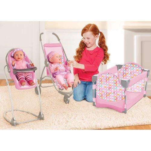 4 In 1 Baby Doll Stroller - 4
