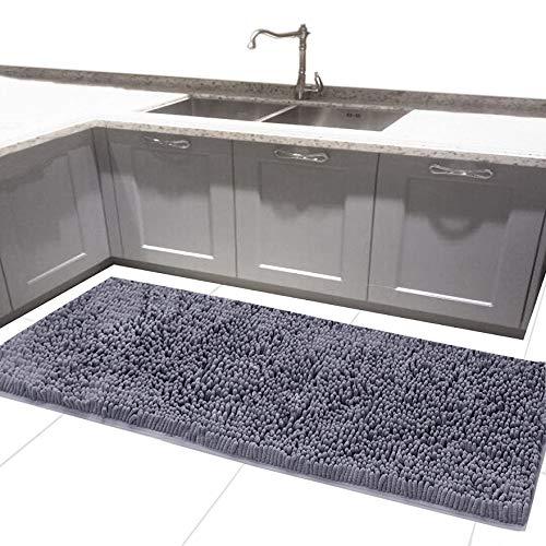 24 x 54 Inches Long Bath Rug For Bathroom Runner Rug Non Sli