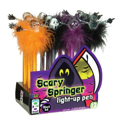Raymond Geddes, Scary Springer Light-Up Pen, 12 Per Display (Party Supplies Richmond)