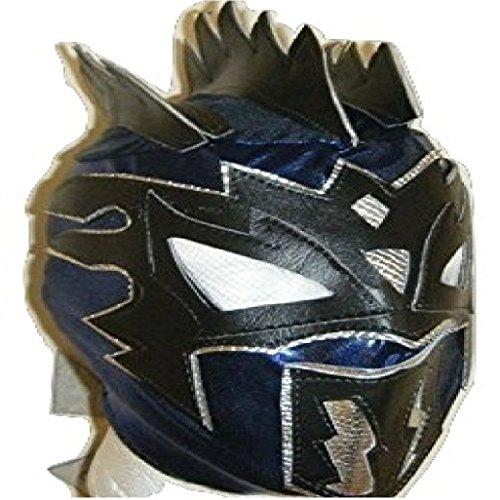 WRESTLING MASKS UK Blue - Kalisto - Deluxe Childrens Mask