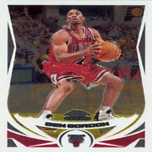 - Ben Gordon 2005 Topps Chrome ROOKIE Card # 168