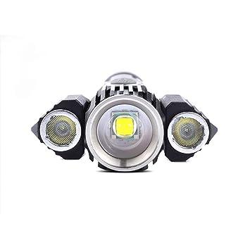 Luz Bici YDHWWSH 1000 Lumen Linterna para Bicicleta USB Recargable ...
