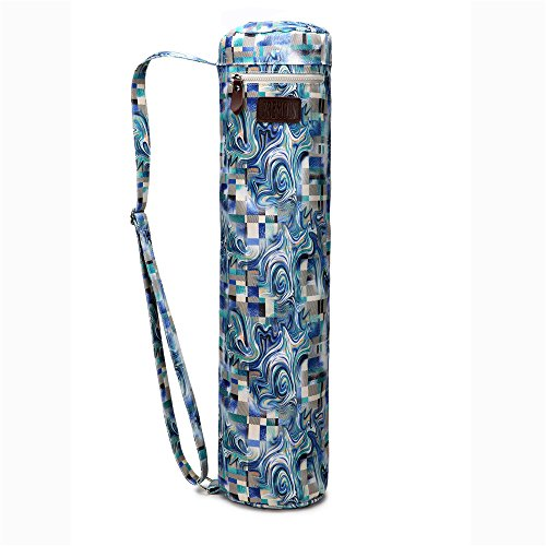 Fremous Yoga Mat Bag and Carriers for Women and Men - Double Storage Pocket - Easy Access Zipper - Adjustable Shoulder Strap and Handle (phantom)