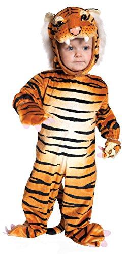 [Underwraps Baby's Tiger, Brown, Medium (18 - 24 Months)] (Ice Themed Costume)