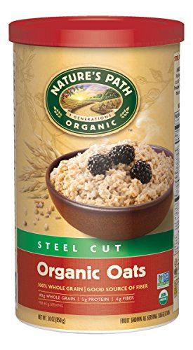 Nature's Path Steel Cut Organic Oats (Pack of 6) (Packaging may vary)