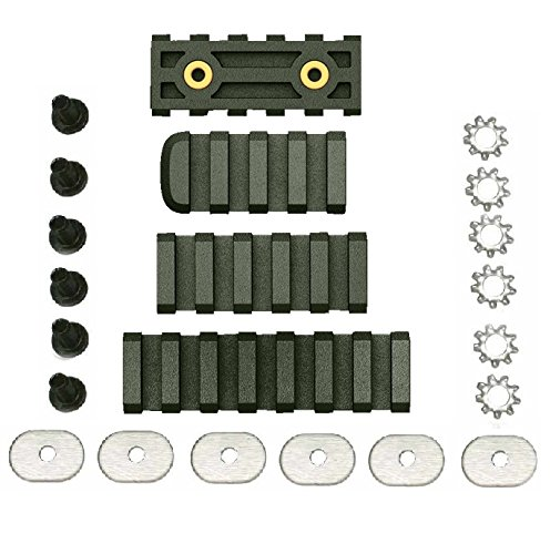 Ultimate Arms Gear LTFCR OD Olive Drab Green Polymer 4/5/7 Slots Combo Pack Fits M1 or PRO Mount System