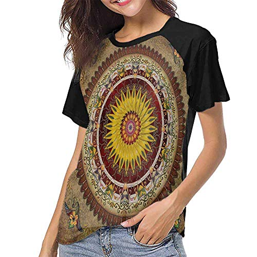 Girls Short Sleeve T-Shirts,Sultan Qaboos Grand Mosque, Muscat, Oman Taken in 2015 S-XXL Custom T-Shirt Fashion Style