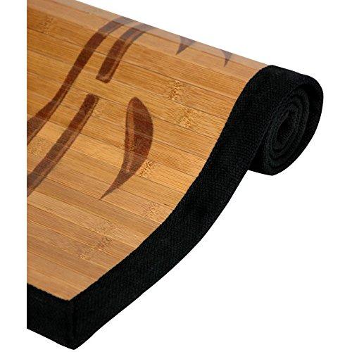 Oriental Furniture Bamboo Rug – Bamboo Tree – 5 x 8