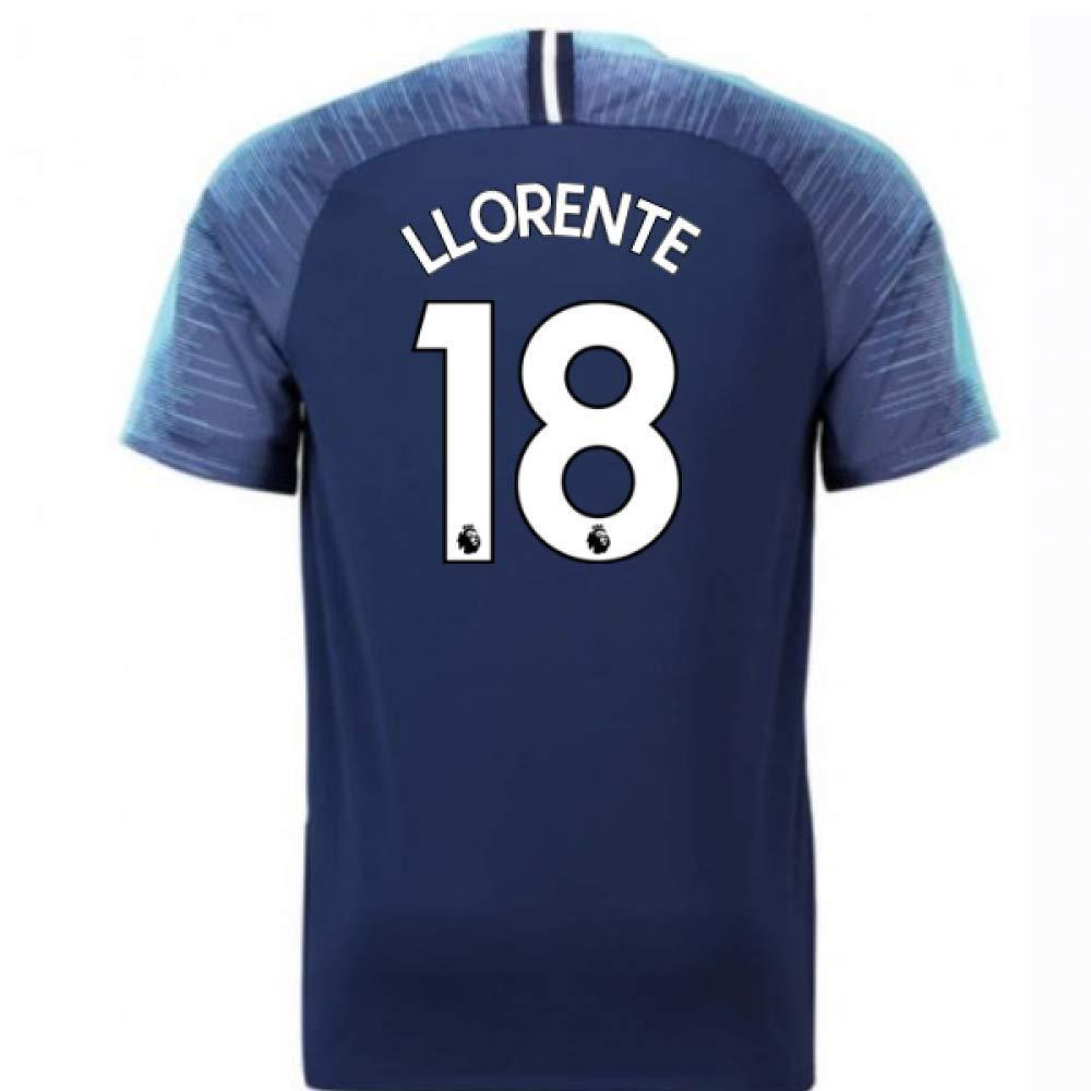 2018-2019 Tottenham Away Nike Football Soccer T-Shirt Trikot (Fernando Llorente 18)