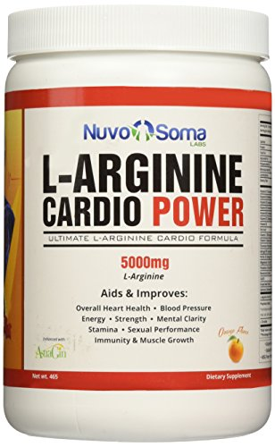 L Arginine 5000mg Cardio Power L citrulline