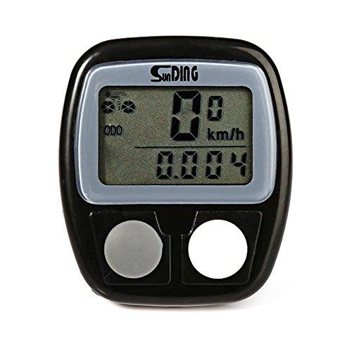 demiawaking Vélo Ordinateur de vélo Compteur de vitesse Odomètre