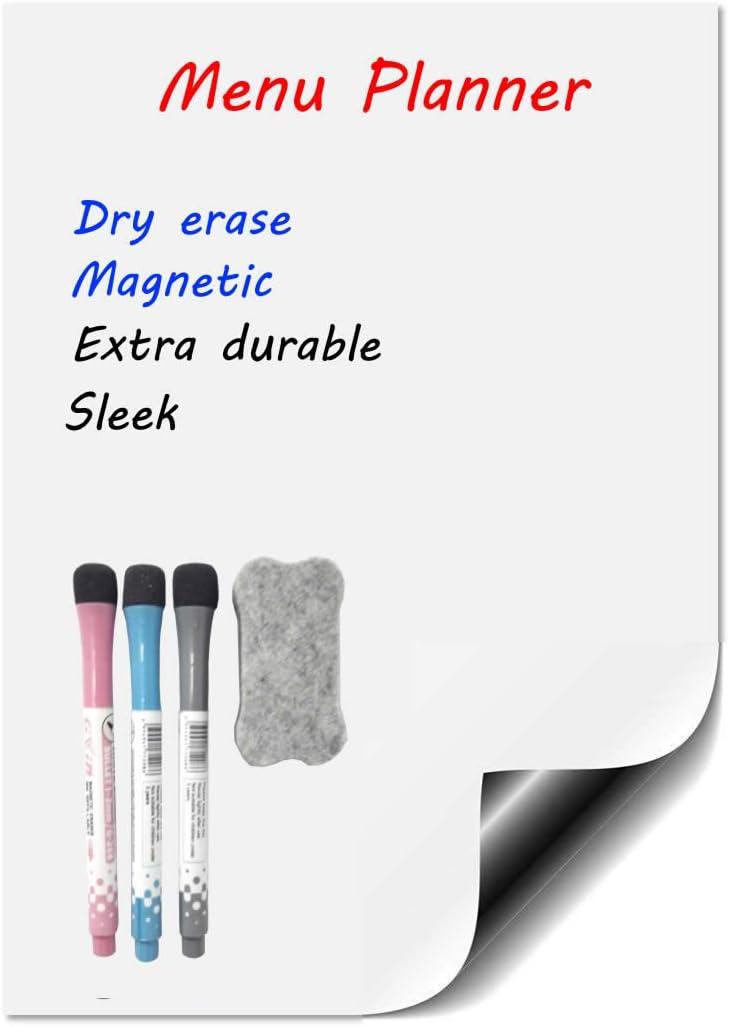 Amazon.com : Magnetic Calendar For Fridge - Dry Erase Whiteboard