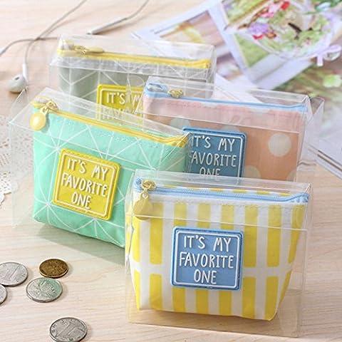 Fashion Simple Creative Wallet Card Holder Case Coin Purse Clutch Handbag Bag - Simple Green Hand Cleaner
