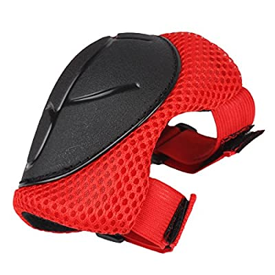 Andux Land 6pcs Kids Children Youth Protective Gear Set Knee Elbow Wrist Support Pads for Roller Skating BMX Bike Cycling Skateboard Scooter ETHJTZ-01 (Red) : Sports & Outdoors