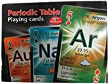 Periodic Table Playing Cards (English, Spanish and French Edition)