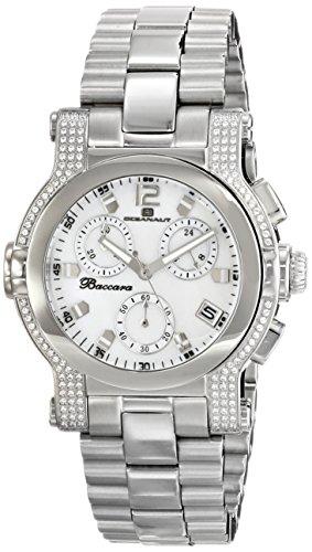 Oceanaut Women's OC0726 Baccara Analog Display Quartz Silver Watch