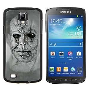 Stuss Case / Funda Carcasa protectora - Zombie Art Dibujo Retrato Hombre cara llena de cicatrices - Samsung Galaxy S4 Active i9295