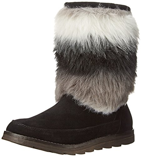 Rocket Dog Women's Marcus Wide Tale Hush Winter Boot, Black, 9 M US