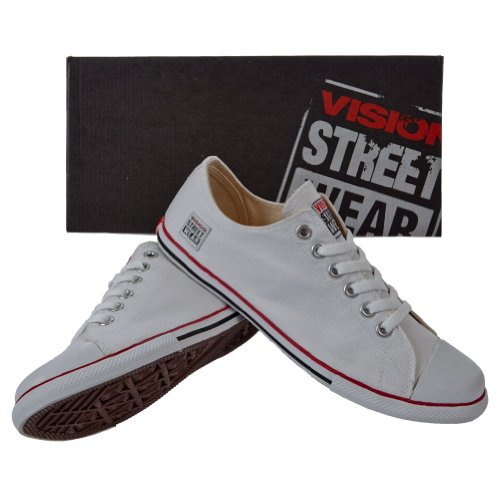 Vision Street Wear Schuhe Canvas Classic Low , weiß