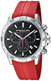 Raymond Weil Men's 'Tango 300' Swiss Quartz Stainless Steel Casual Watch, Color:red (Model: 8560-SR2-20001)