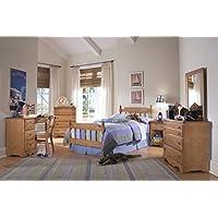 Carolina Furniture Works 154400 Chest with 4 Drawer, Salem Maple