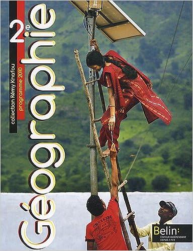 En ligne téléchargement gratuit Géographie 2de Programme 2010 pdf
