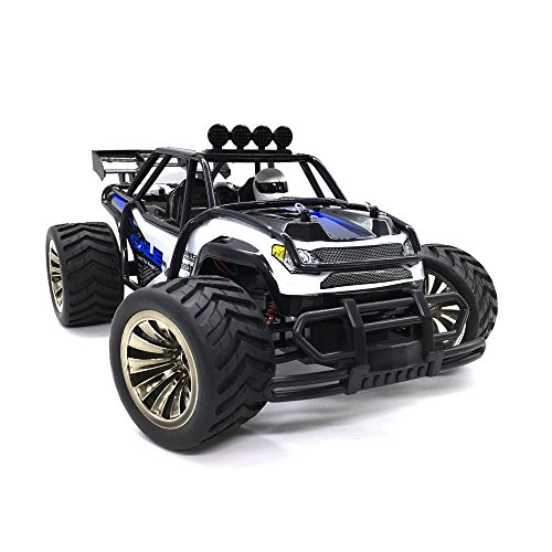 KELIWOW Electric RC Car 1:16 Scale Offroad Remote Control Car 2WD 18MPH/30KMPH High Speed Monster Truck with Quick Charging Battery for Kids