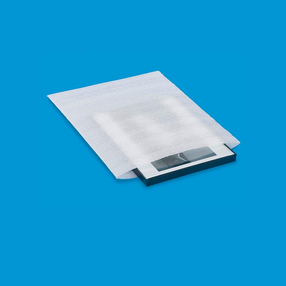 Foam Pouches, Foam Wraps Recyclable Cushioning for Moving Storage Packing and Shipping Fit Dish Wrap and Glassware Electronic Accessories Packaging Supply 12'' x 12'' 50-Count (White) by Alin (Image #6)