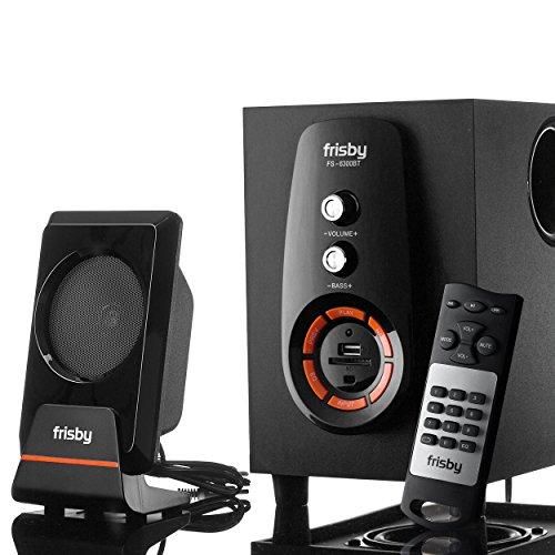 FRISBY FS-6300BT Bluetooth Wireless 2.1 CH Subwoofer Spea...