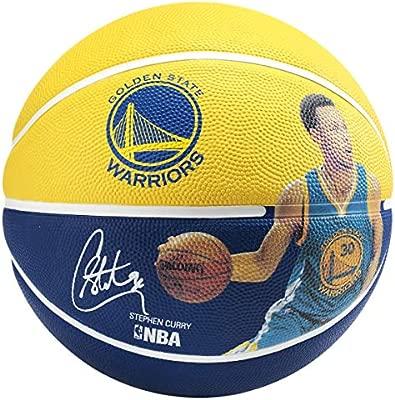 Spalding NBA Jugador de Baloncesto, 83343, Gold/Blue: Amazon ...