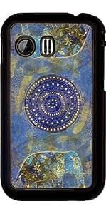 Funda para Samsung Galaxy Y (S5360) - Elefante Azul by Andrea Haase