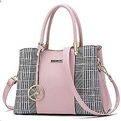 Women Purses and Handbags Top Handle Satchel Shoulder Bags Messenger Tote Bag for Ladies (vp-Pink2)
