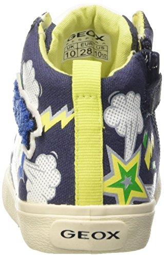 Geox Jr Kiwi C - Zapatillas de deporte Niños Multicolor - Multicolore (C4243)