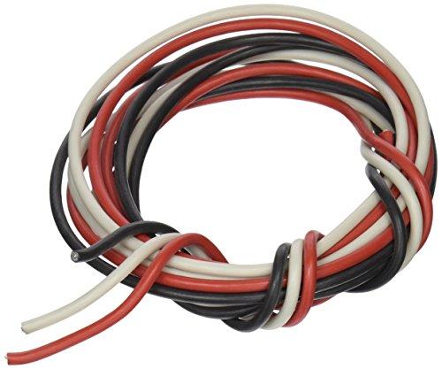 - Supco RP0514G AP4503038 Sil-A-Blend 14Ga 200C Triplex Glass Braided Copper Wire - 5 Feet