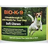 BIO-K-9, A Breakthrough Joint Supplement For Dogs - Glucosamine,Chondroitin, MSM, Turmeric,Yucca and more-120 Soft Chews