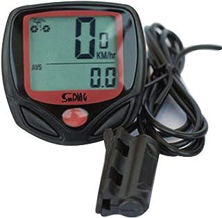 Belingeya Compteur de vélo sans Fil Ordinateur de vélo étanche Automatique Réveil Multifonction pour vélo Compteur de Vitesse Odomètre rétroéclairage LCD Display-Tracking Distance AVS Speed Temps
