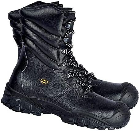 Cofra NT030-000.W45 Chaussures de sécurité New Ural Uk S3 Ci SRC Taille 45 Noir