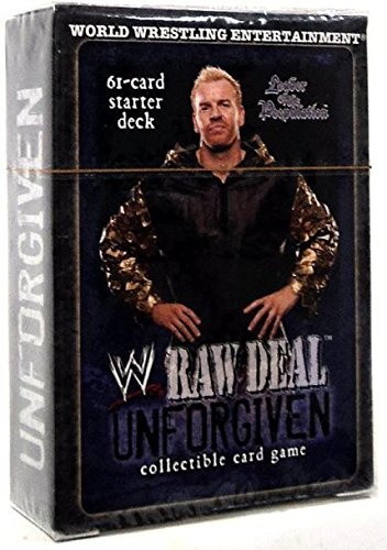 WWE Raw Deal Unforgiven Starter Deck Leader of the Peepulation by Comic Images