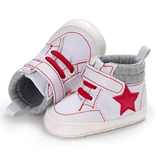 Kleinkind Schuhe Sole Beleg nette Hunpta Stern Neugeborenes Khaki Anti Baby Krippe xqzCWgTIw