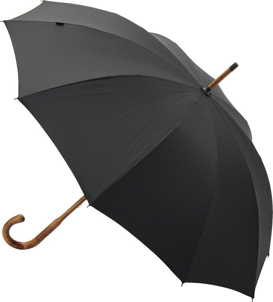 Knirps ハンドメイド長傘 【正規輸入品】 NorfolkOxford Black KNHM-AUT008 B06WGQFTYL