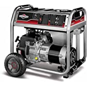 Briggs and Stratton 6000-Watt Gas Powered Portable Generator with 1650 Series 342cc Engine and Power Surge Alternator,